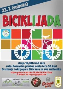 plakat biciklijada